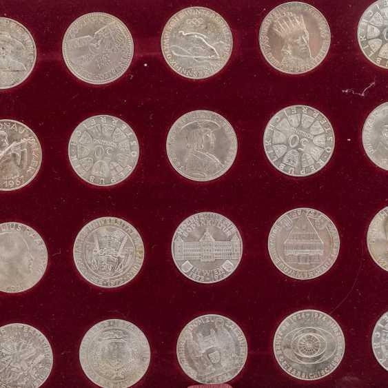 """Austria - casket - """"The silver commemorative coins - photo 4"""