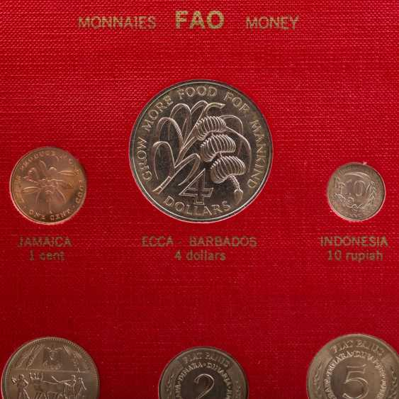 FAO - special album in 1970 with the numismatic emissions - photo 3