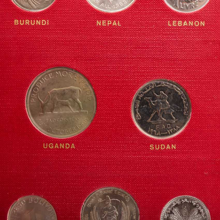 FAO - special album in 1970 with the numismatic emissions - photo 5