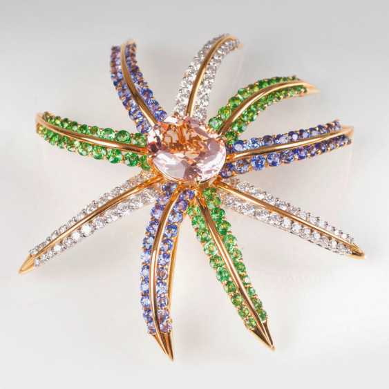 Exceptional gemstone brooch 'Fireworks' by Tiffany & co. - photo 1