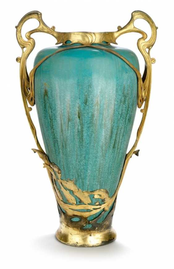 Ornamental vase Hermann Gradl d. Ä. for Orivit, Cologne, around 1900 - photo 1