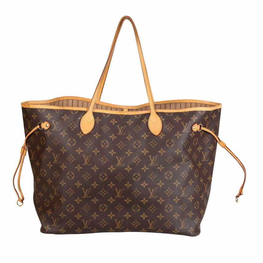 """LOUIS VUITTON shopper tote bag """"NEVERFULL GM"""", collection: 2012. - photo 1"""