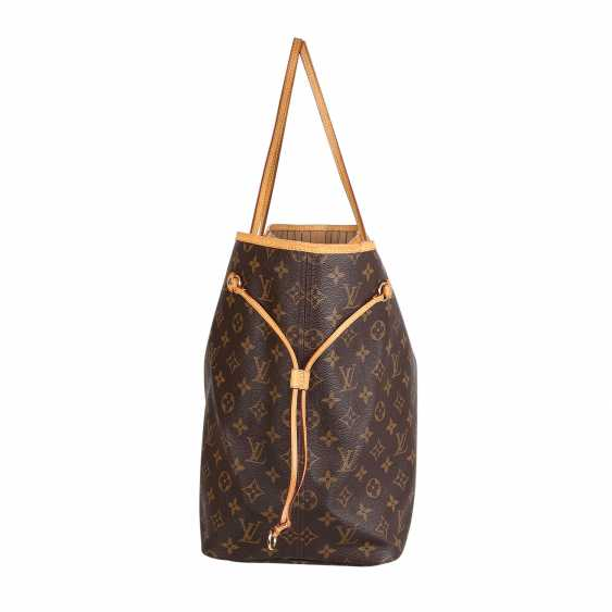"""LOUIS VUITTON shopper tote bag """"NEVERFULL GM"""", collection: 2012. - photo 3"""