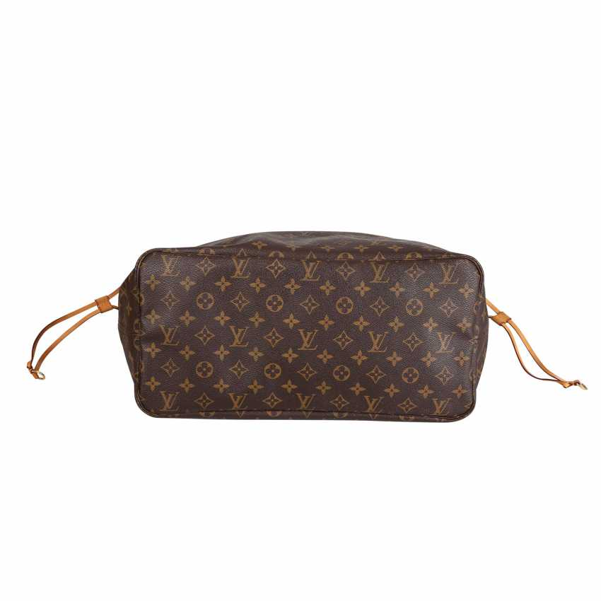 """LOUIS VUITTON shopper tote bag """"NEVERFULL GM"""", collection: 2012. - photo 5"""