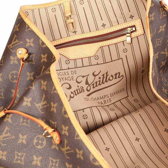 """LOUIS VUITTON shopper tote bag """"NEVERFULL GM"""", collection: 2012. - photo 6"""