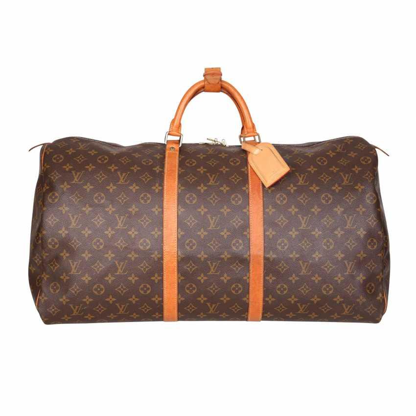 8844e2d603 Lot 9. LOUIS VUITTON weekend bag