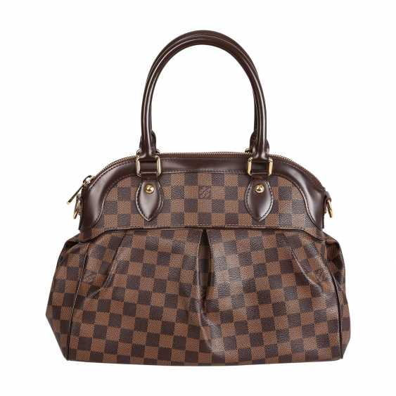 "LOUIS VUITTON handle bag ""TREVI GM"", collection 2011. - photo 4"