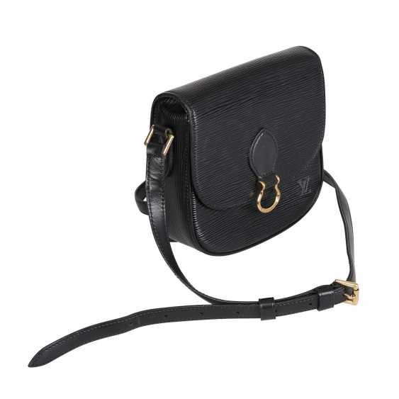 "LOUIS VUITTON VINTAGE shoulder bag ""SAINT CLOUD"", in the collection in 1994. - photo 2"