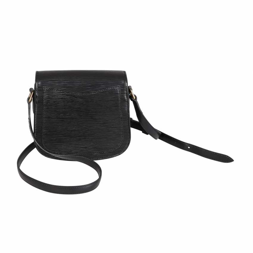 "LOUIS VUITTON VINTAGE shoulder bag ""SAINT CLOUD"", in the collection in 1994. - photo 4"