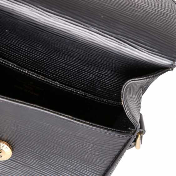"LOUIS VUITTON VINTAGE shoulder bag ""SAINT CLOUD"", in the collection in 1994. - photo 6"