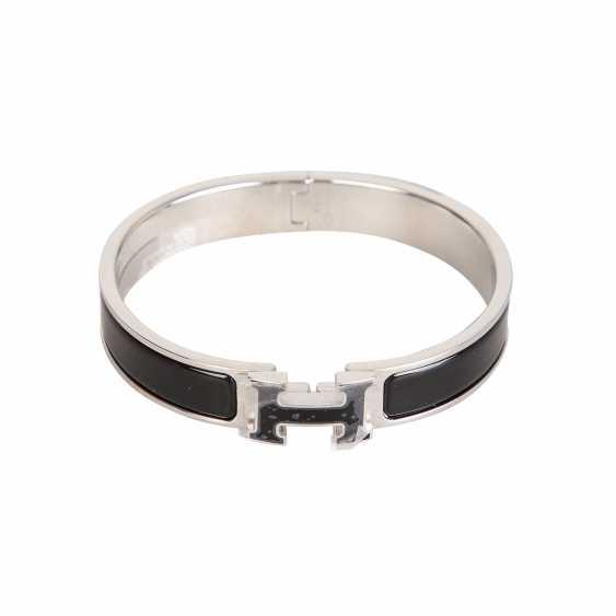 "HERMÈS bangle bracelet ""CLIC H"", current new price: 620,-€. - photo 1"