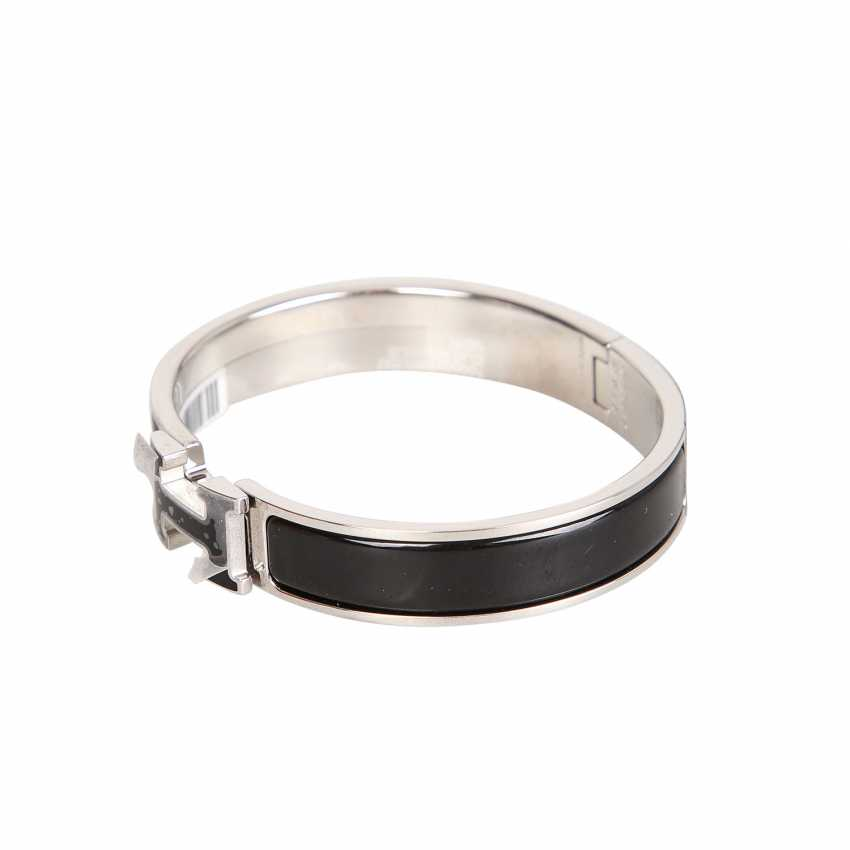 "HERMÈS bangle bracelet ""CLIC H"", current new price: 620,-€. - photo 2"