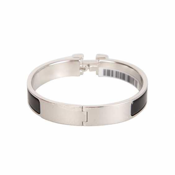 "HERMÈS bangle bracelet ""CLIC H"", current new price: 620,-€. - photo 3"