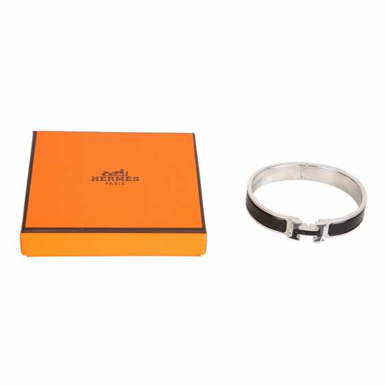"HERMÈS bangle bracelet ""CLIC H"", current new price: 620,-€. - photo 4"