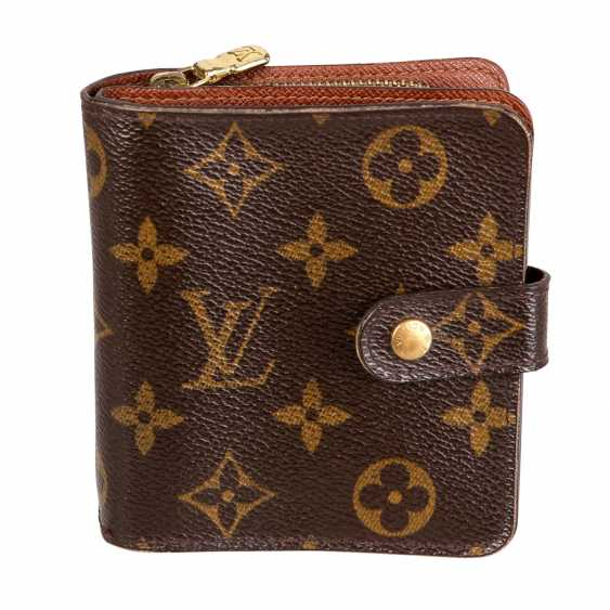 "LOUIS VUITTON wallet ""ZIPPY COMPACT"", collection: 2004. - photo 1"