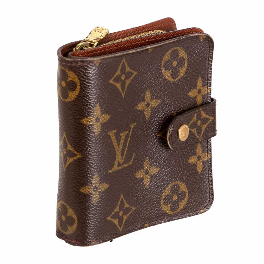 "LOUIS VUITTON wallet ""ZIPPY COMPACT"", collection: 2004. - photo 2"