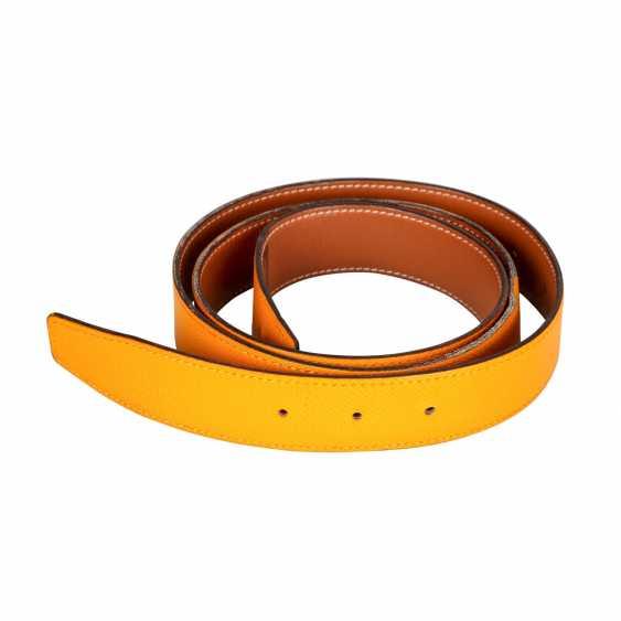 HERMÈS reversible belt strap, length: 100 cm, price: 360,-€. - photo 2