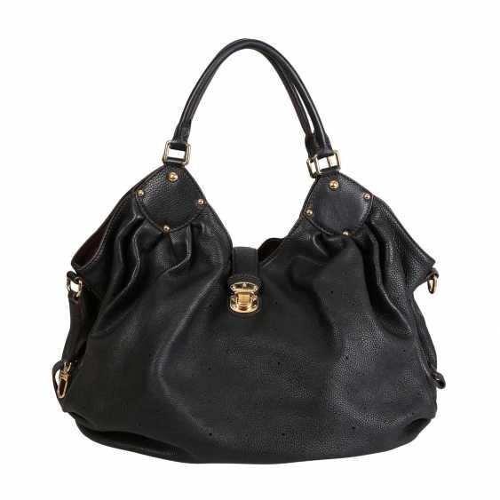 """LOUIS VUITTON shopper bag """"MAHINA GM"""", collection: 2007. - photo 1"""