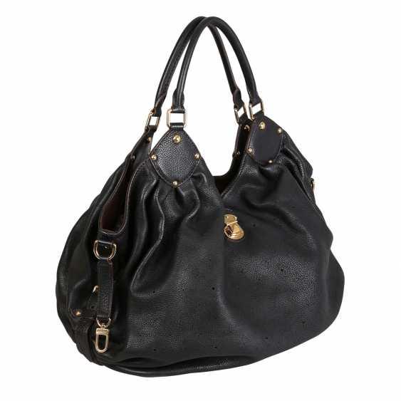 """LOUIS VUITTON shopper bag """"MAHINA GM"""", collection: 2007. - photo 2"""
