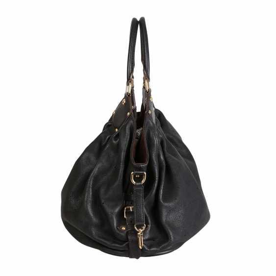 """LOUIS VUITTON shopper bag """"MAHINA GM"""", collection: 2007. - photo 3"""