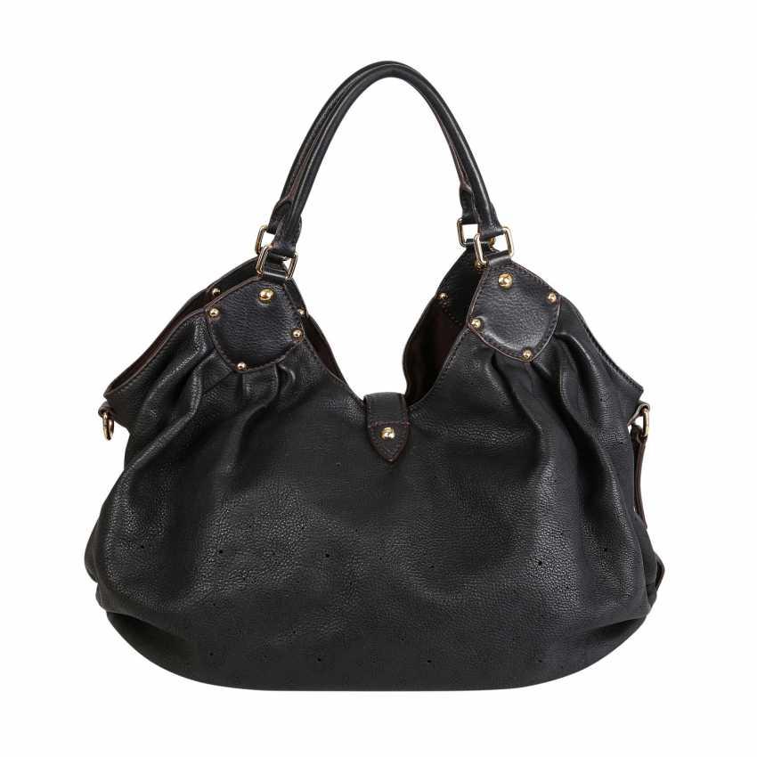 """LOUIS VUITTON shopper bag """"MAHINA GM"""", collection: 2007. - photo 4"""