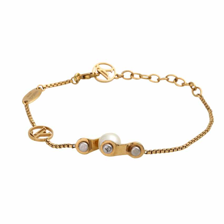 "LOUIS VUITTON bracelet ""SPEEDY PEARL SUPP"", collection: 2015, price: 325,-€. - photo 1"