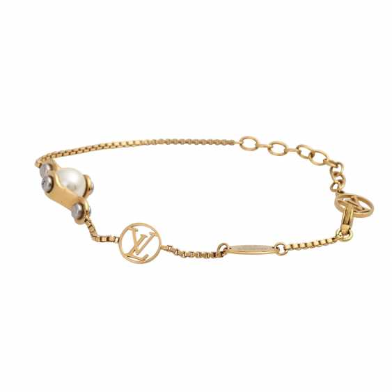 "LOUIS VUITTON bracelet ""SPEEDY PEARL SUPP"", collection: 2015, price: 325,-€. - photo 3"