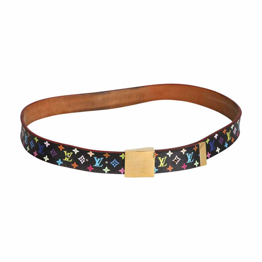 LOUIS VUITTON belt, length 80cm (Gr. 32). - photo 1