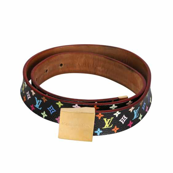 LOUIS VUITTON belt, length 80cm (Gr. 32). - photo 2