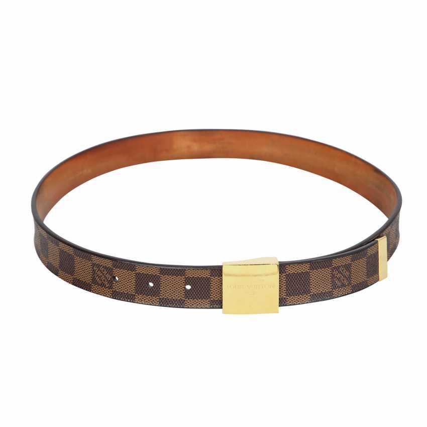 LOUIS VUITTON belt, length 80cm. Collection 2004. - photo 1