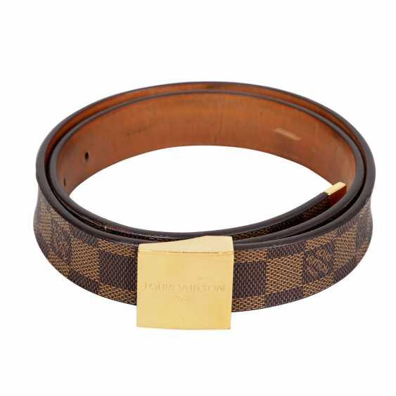 LOUIS VUITTON belt, length 80cm. Collection 2004. - photo 2