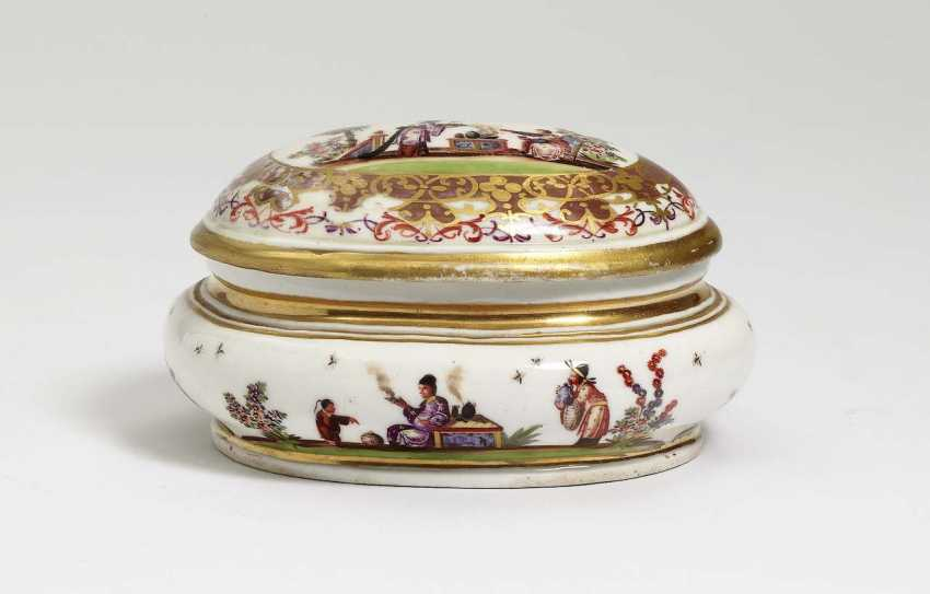 Sugar bowl. Meissen, to 1725/30 - photo 1