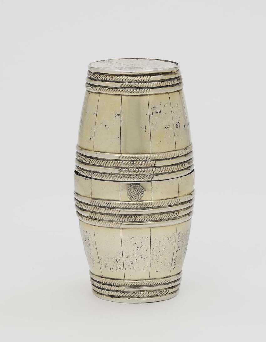 Double barrel mug. Nuremberg, 1632/1637 - 1640/1641, Johann III. Wolff - photo 1
