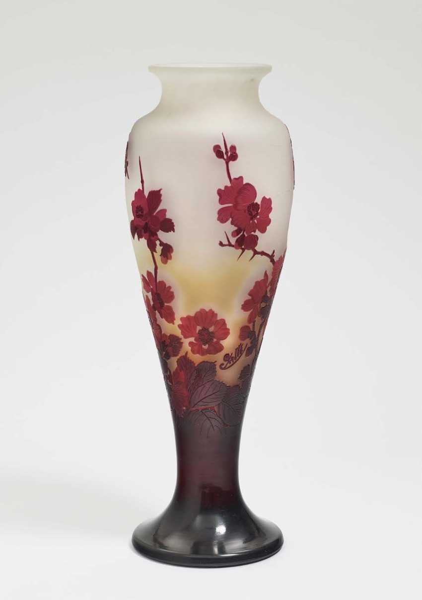 Vase. Emile Gallé, Nancy, 1906-1914 - photo 2