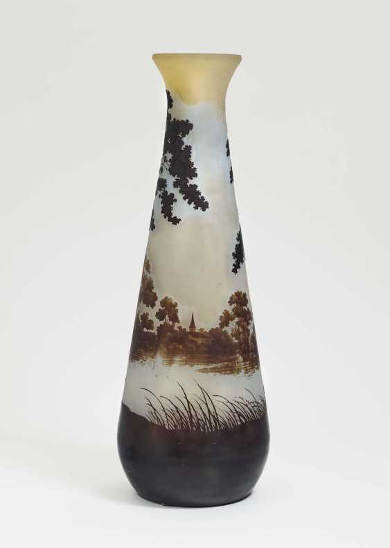Vase 'landscape of glass'. Emile Gallé, Nancy, 1906-1914 - photo 1