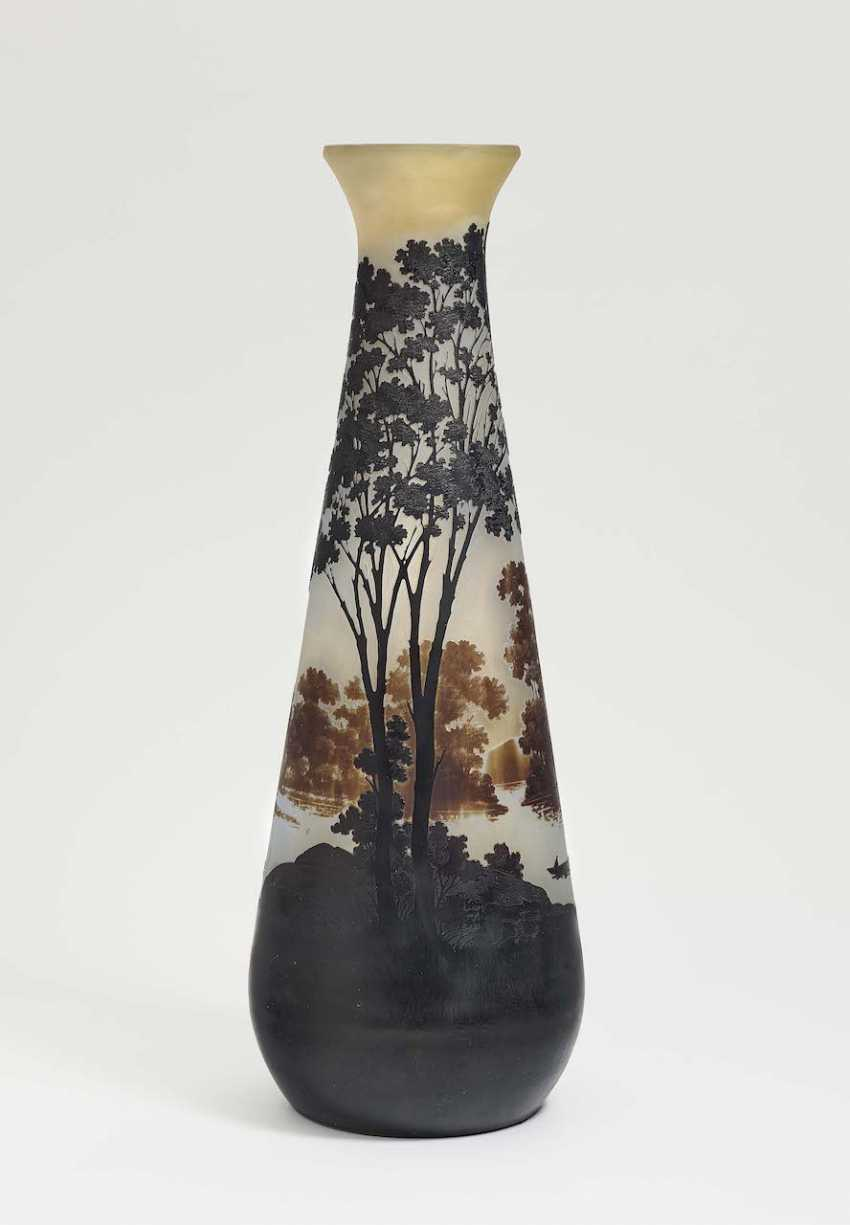 Vase 'landscape of glass'. Emile Gallé, Nancy, 1906-1914 - photo 2