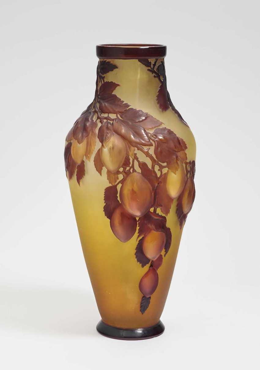 Vase 'Damsons'. Emile Gallé, Nancy, 1918-1931 - photo 1
