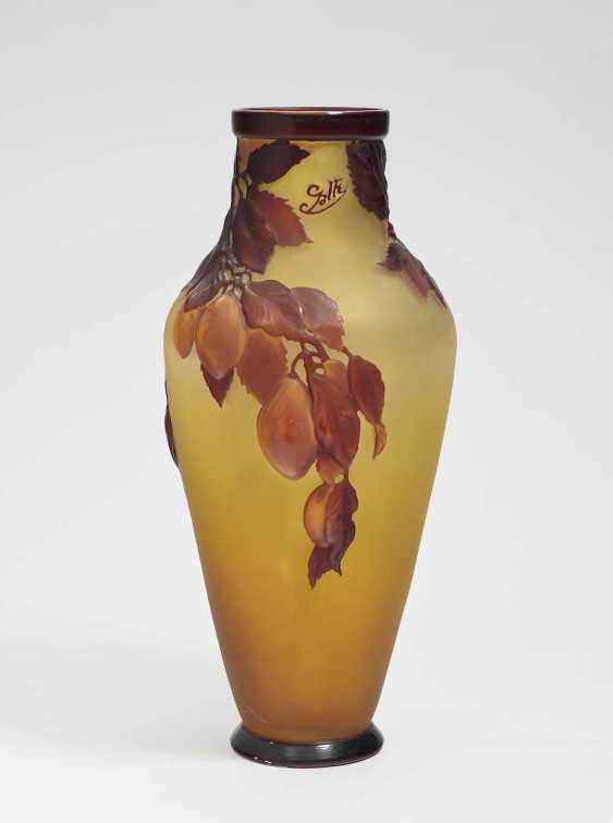 Vase 'Damsons'. Emile Gallé, Nancy, 1918-1931 - photo 2