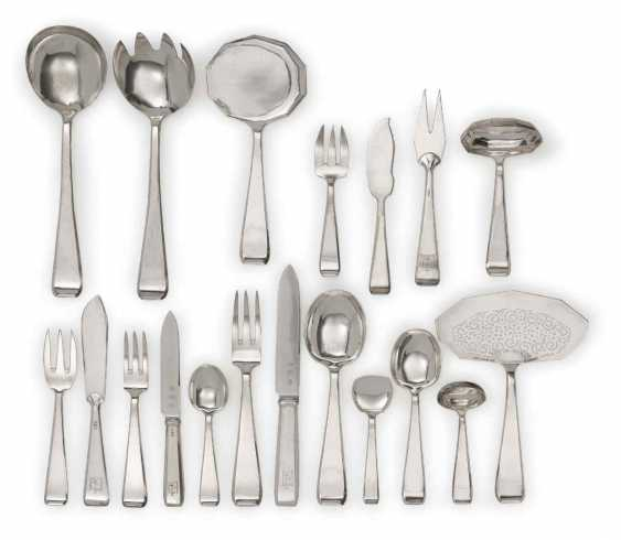"Cutlery ""Gioconda"", 154 Parts. Design Philippe Wolfers, Execution, Wolfers Frères, Brussels, 1925 - photo 1"