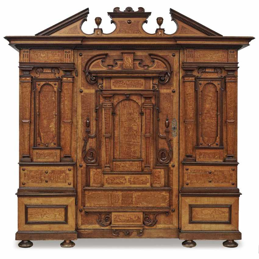 Facade of the Cabinet. South German Renaissance Style, Mid-19th Century. Century - photo 1