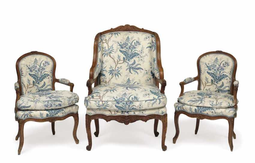 Two armchairs and the Bergere. German and France, - photo 1