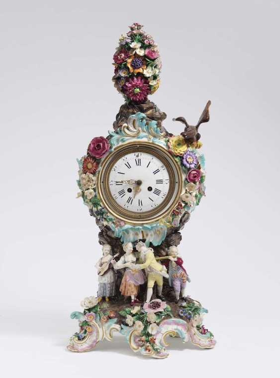 Pendule. Meissen, around 1900 - photo 1