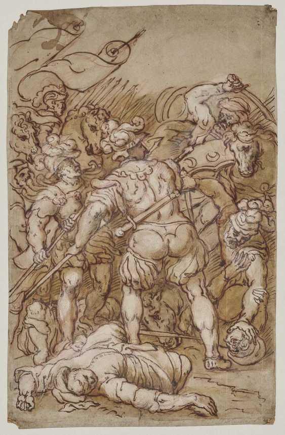 Italy, 16. Century. Battle scene - photo 1
