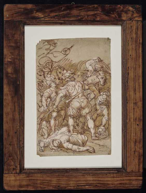 Italy, 16. Century. Battle scene - photo 2