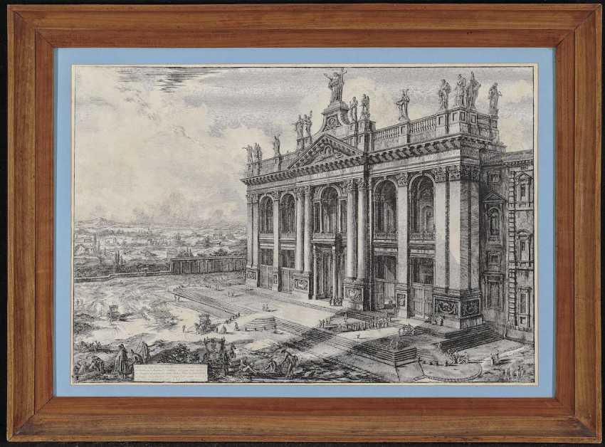 Piranesi, Giovanni Battista. View of the Facade of the Basilica of St. John Lateran - photo 2
