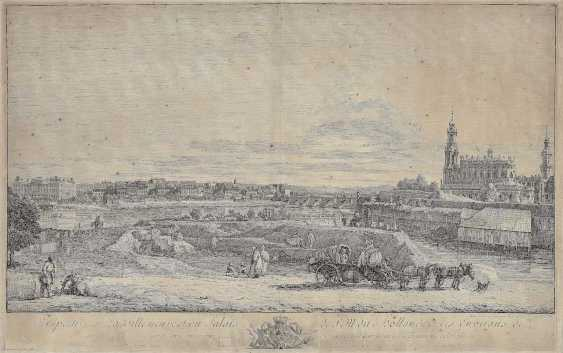 Bellotto, Bernardo. Perspective from The new town, and the Palace (...) - photo 1
