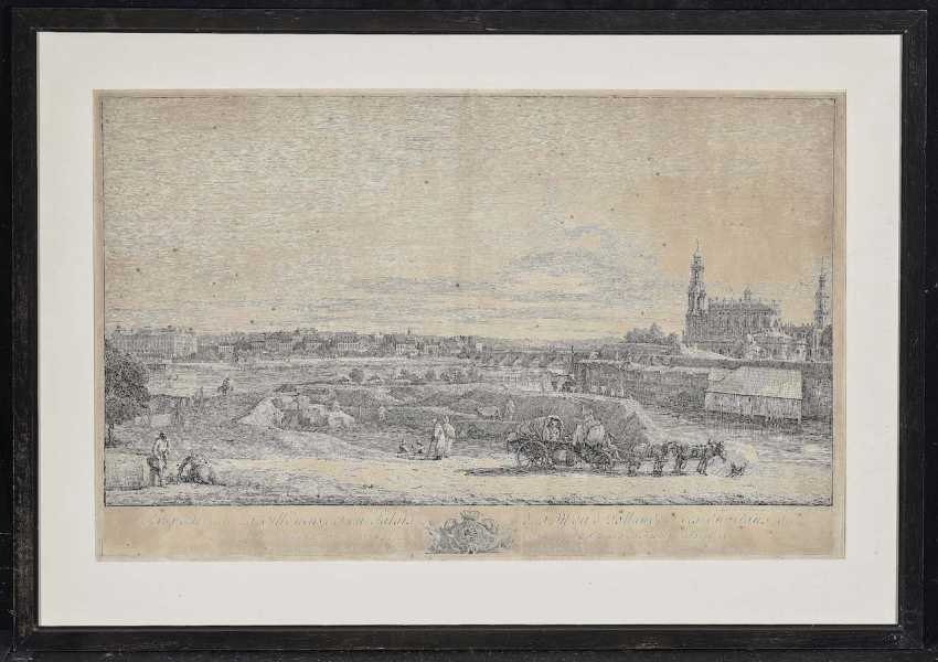 Bellotto, Bernardo. Perspective from The new town, and the Palace (...) - photo 2