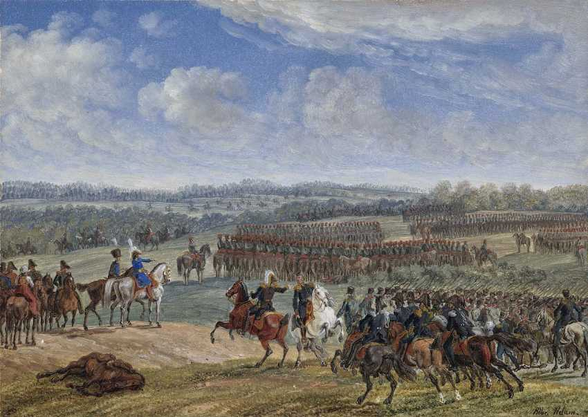 Adam, Albrecht. The battle of Ostrowno, on the Morning of the 26. July - photo 1
