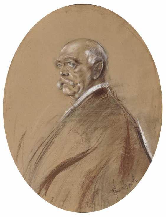 Lenbach, Franz von. Portrait of Otto von Bismarck - photo 1