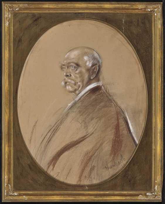 Lenbach, Franz von. Portrait of Otto von Bismarck - photo 2